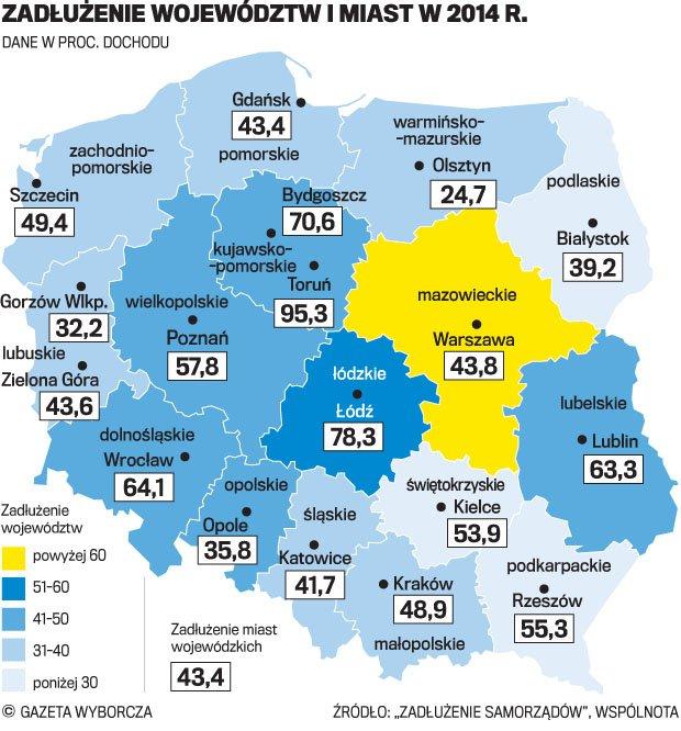Metro, tramwaje, kolej - ofensywa inwestycyjna w polskich miastach. Ale co z długami?