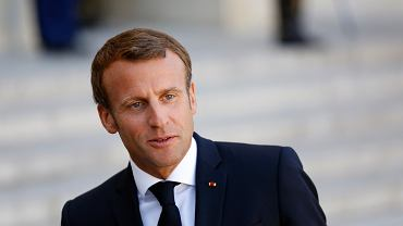 Emmanuel Macron, fot. France Finland