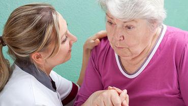 Demencja jest spowodowana uszkodzeniem mózgu