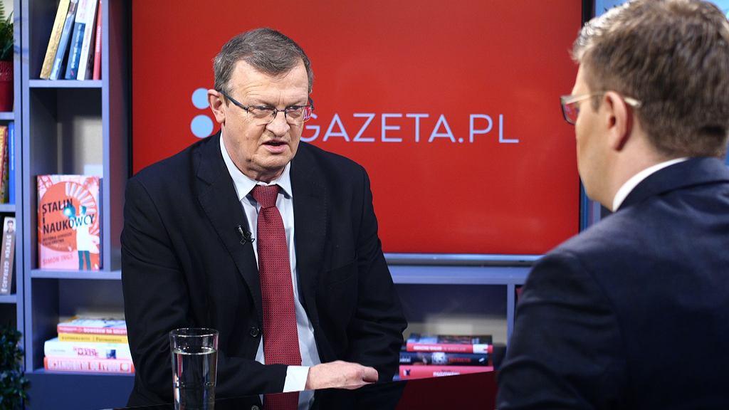 Tadeusz Cymański był gościem Porannej rozmowy w Gazecie.pl