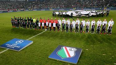 Mecz fazy grupowej Ligi Mistrzów Legia Warszawa - Sporting Lizbona