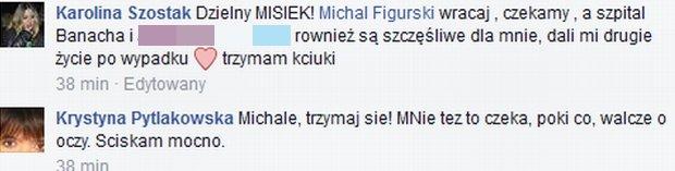 Komentarze pod wpisem Michała Figurskiego