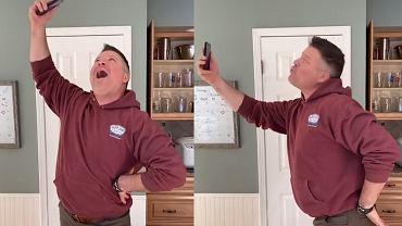 Ojciec parodiuje córkę na TikToku. Jego filmiki to hit wśród rodziców