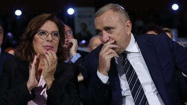 Małgorzata Kidawa-Błońska i Gregorz Schetyna