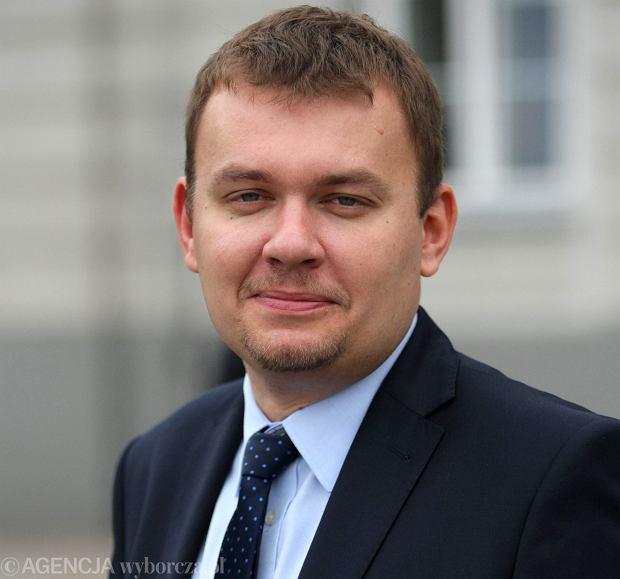 Łukasz Wilczyński, prezes Europejskiej Fundacji Kosmicznej i pomysłodawca European Rover Challange (fot. Wojciech Habdas / Agencja Gazeta)