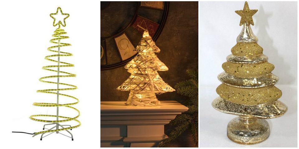 Dekoracje świąteczne choinki