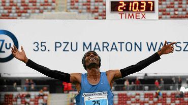 35. PZU Maraton Warszawski - zwycięzca Yared Shegumo