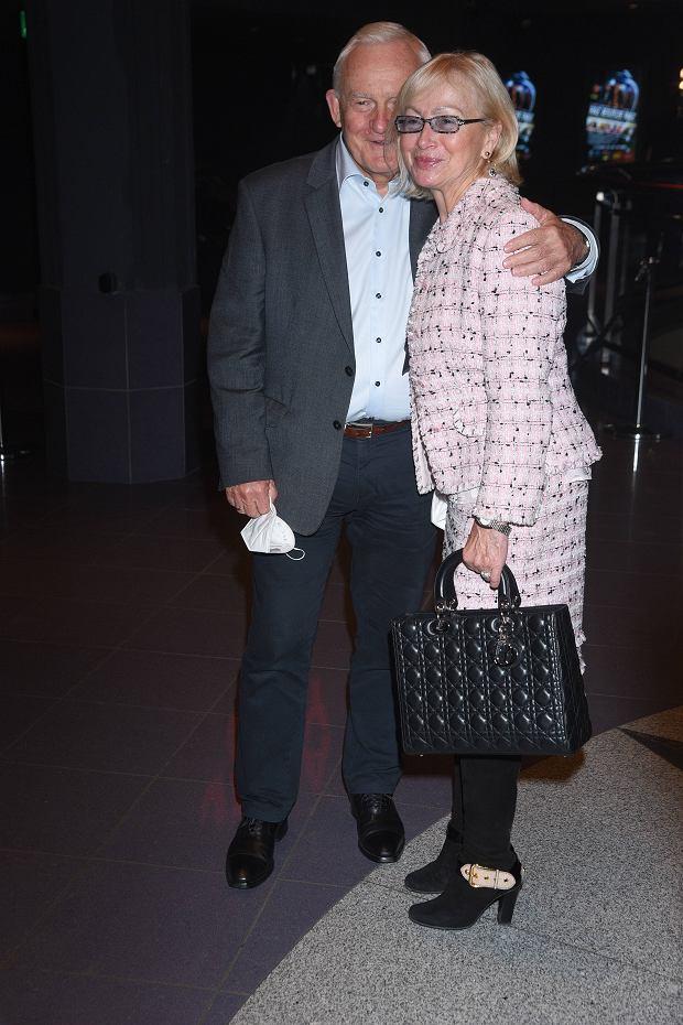Leszek Miller z żoną