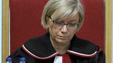 Julia Przyłębska, prezes TK (fot. Sławomir Kamiński/AG)