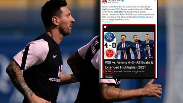 France Messi PSG