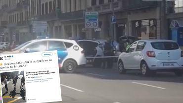 Policja zablokowała okoliczne ulice