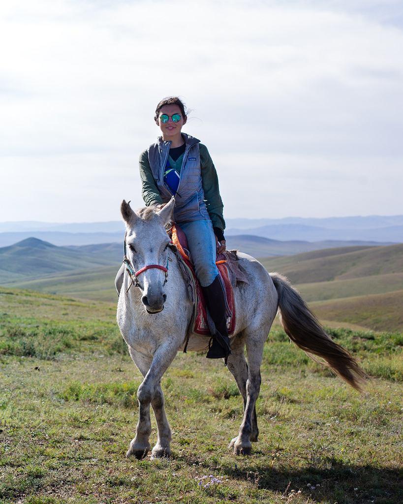 Konna wyprawa przez Mongolię