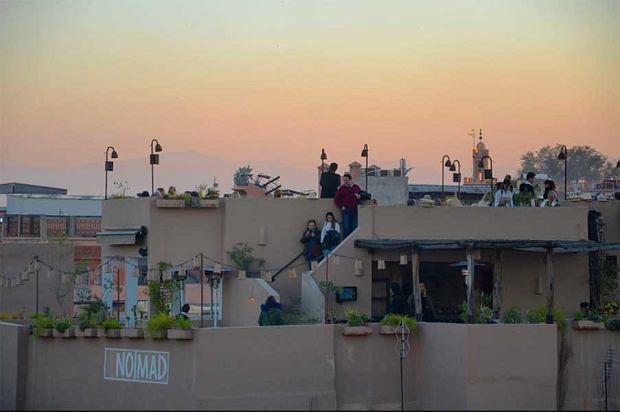 Restauracja Nomad w Marrakeszu
