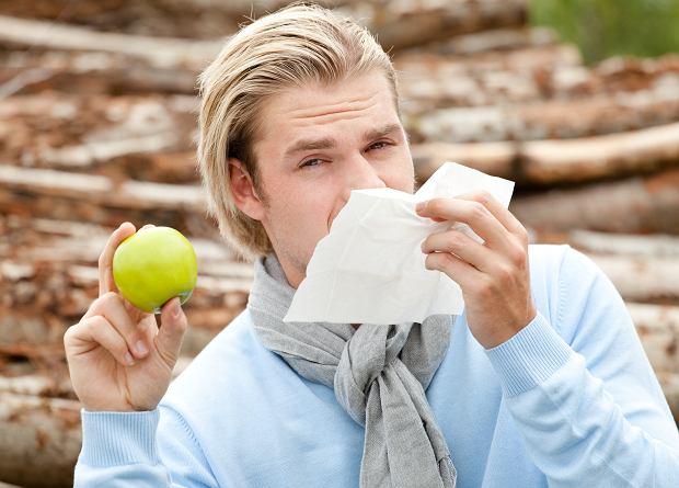 Nie mieszaj... alergii na brzozę z jedzeniem jabłek