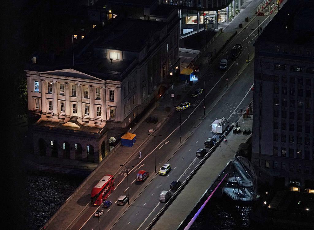 Londyn po ataku nożownika/Fot. Yui Mok/PA via AP