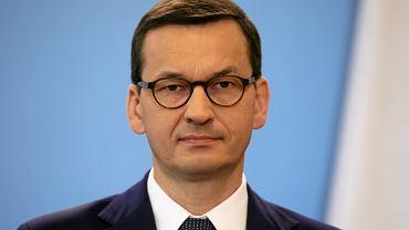Premier rządu PiS Mateusz Morawiecki