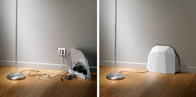 Osłonka na kable - w łatwy sposób można ją wykonać samodzielnie.
