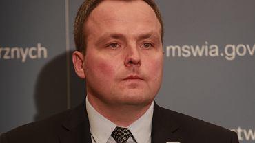 Piotr Pogonowski, szef ABW.