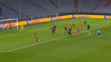 Robert Lewandowski strzela kolejnego gola w Lidze Mistrzów