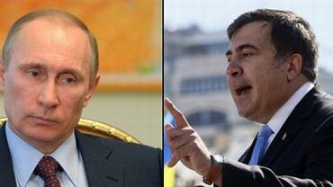 Władimir Putin, Micheil Saakaszwili