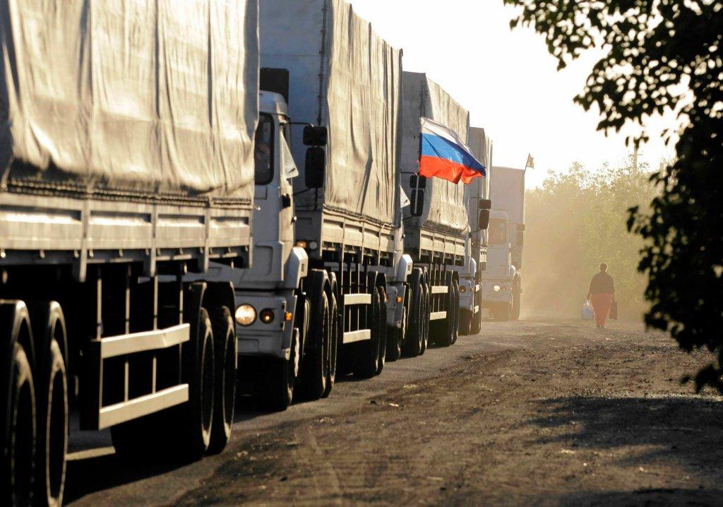 Pierwszy rosyjski konwój z pomocą humanitarną