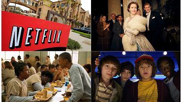 Netflix i jego produkcje: 'The Crown', 'Orange is the new black', 'Stranger Things'.