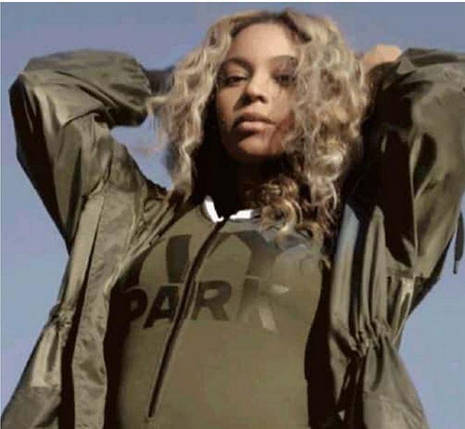 Beyonce z wideo reklamowym Ivy Park