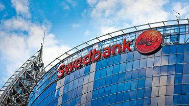Oddział Swedbanku w stolicy Łotwy, Rydze.