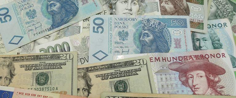 Kursy walut 02.12. Złoty dynamicznie w górę, szczególnie szybko traci dolar