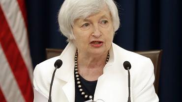 Janet Yellen, szefowa Fed