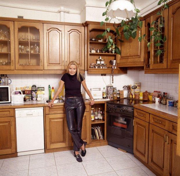 Hanna Lis, Hanna Smoktunowicz, domu gwiazd, lata 90., wnętrza domów gwiazd
