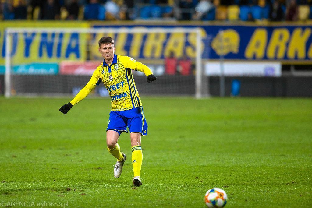 Maciej Jankowski zdobył gola w meczu z Pogonią