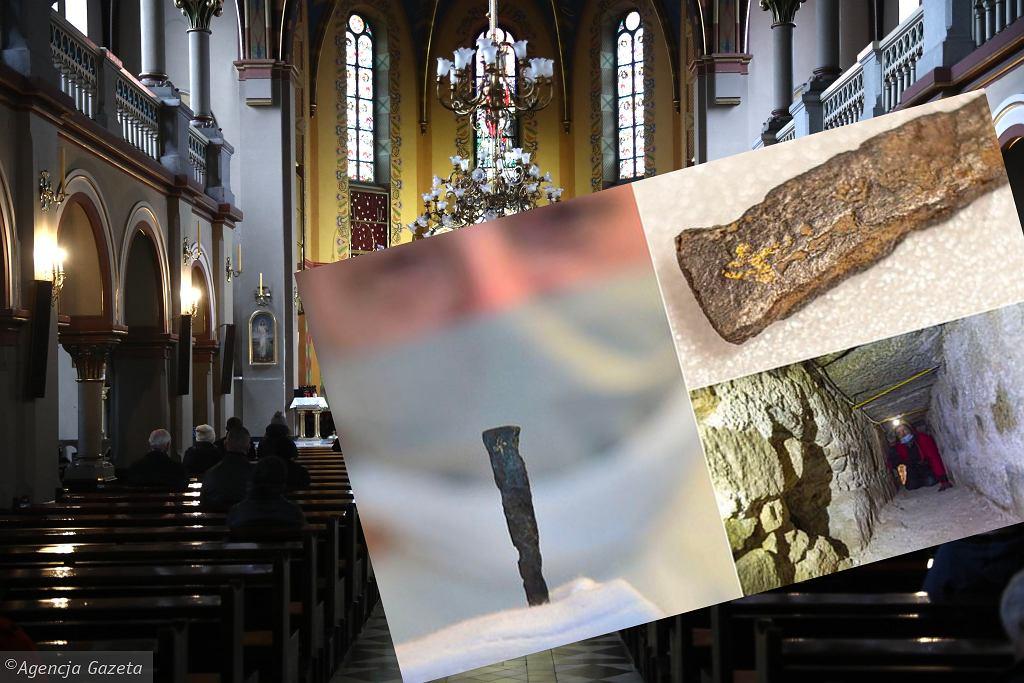 W klasztorze w Milevsku w Czechach archeolodzy znaleźli kawałek gwoździa