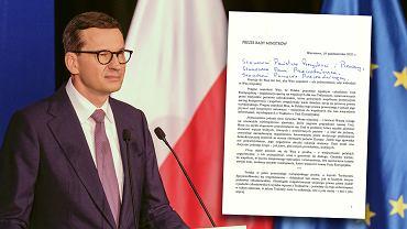 List premiera Morawieckiego do przywódców UE