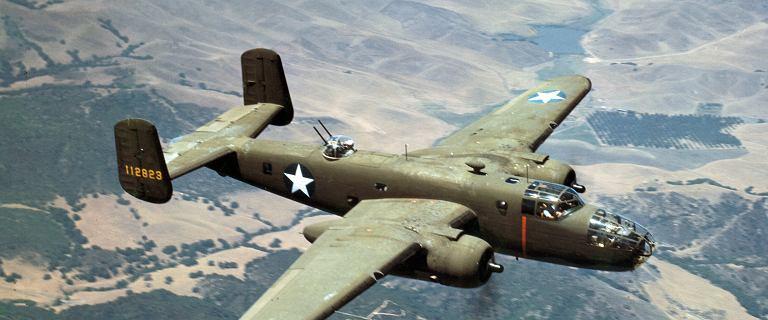 Bieruń. Odnaleźli wrak bombowca B-25 i szczątki radzieckich żołnierzy