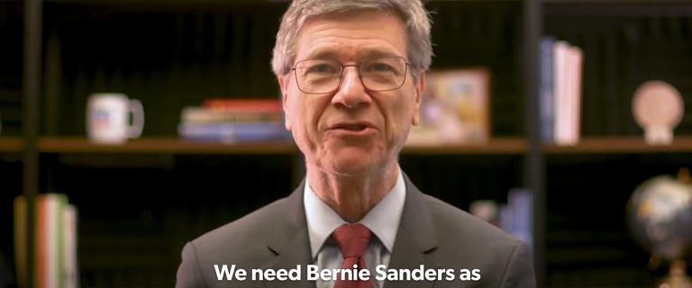 Wolta światowej sławy ekonomisty. Jeffrey Sachs poparł socjalistę Berniego Sandersa