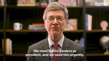 Jeffrey Sachs popiera Sandersa