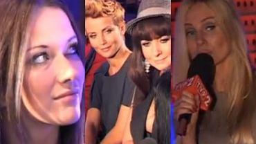 Jula, Katarzyna Zielińska, Alicja Węgorzewska i Agnieszka Szulim.
