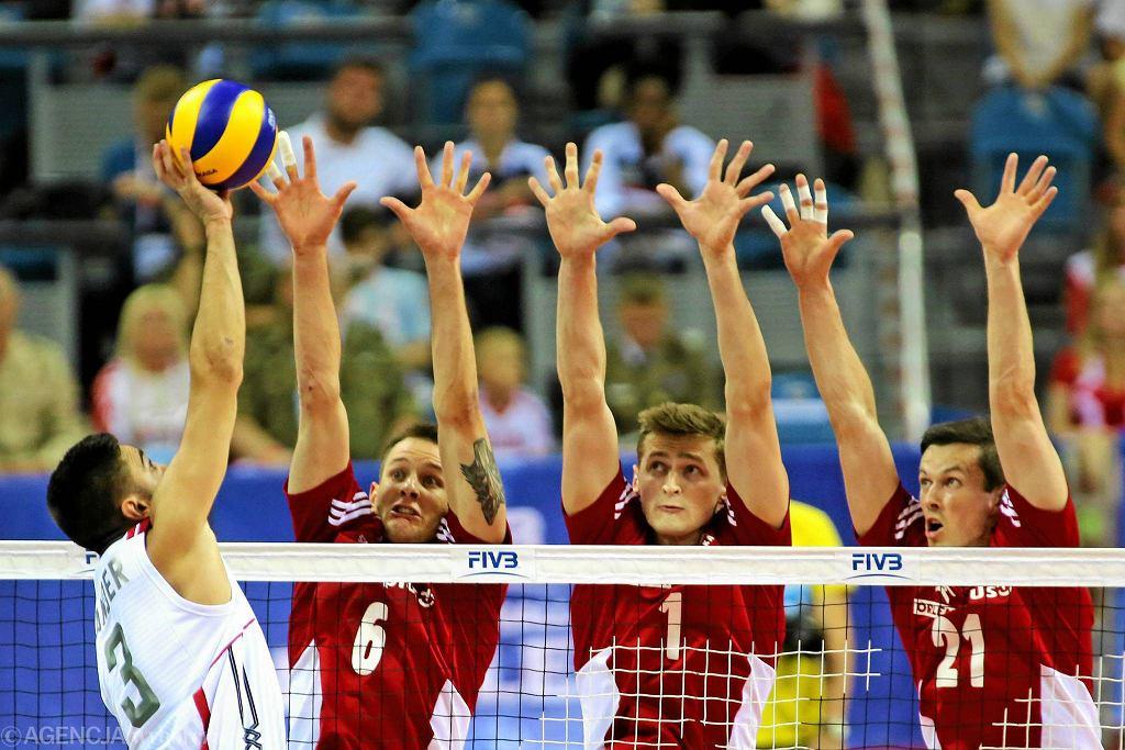 Kraków Arena. Liga Światowa siatkarzy.