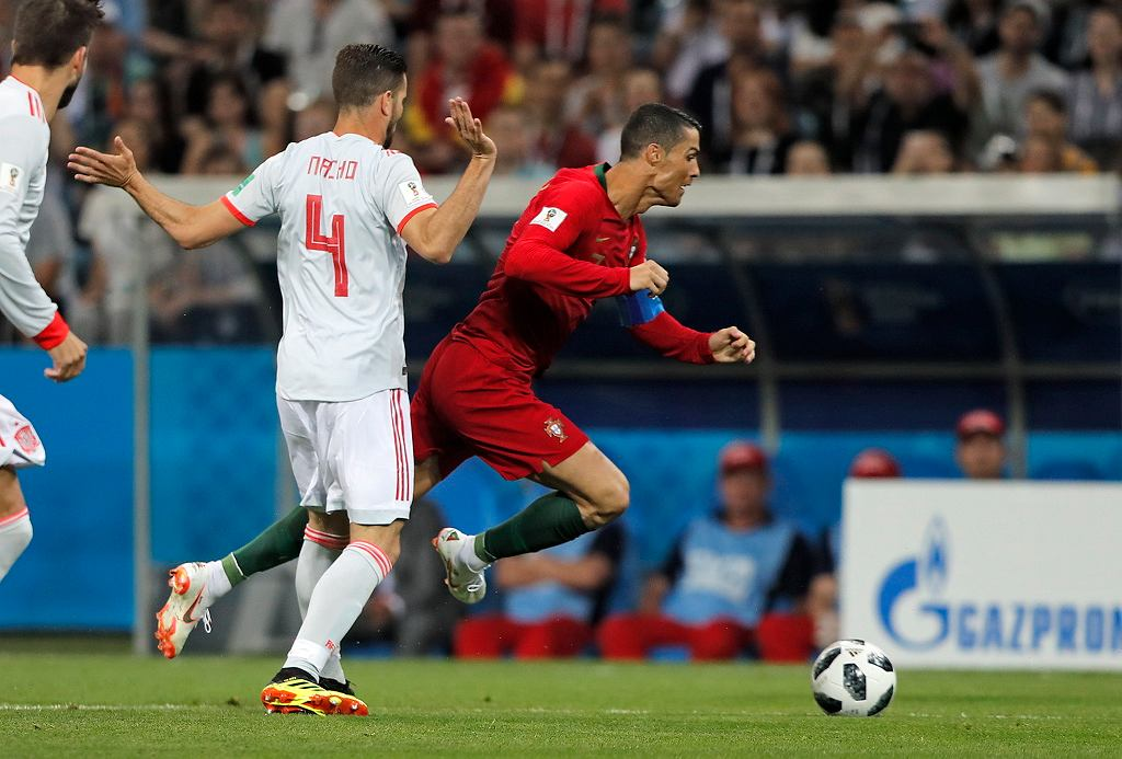 Mecz Portugalia Hiszpania 15.06.2018