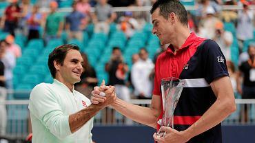 Roger Federer i John Isner