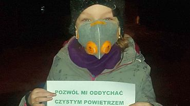 Zuza, córka jednej z inicjatorek petycji