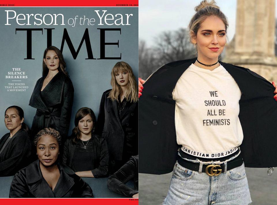 2017 to rok, kiedy zaczyna działać ruch 'me too', rozpoczynają się społeczne akcje na rzecz kobiet i ich praw