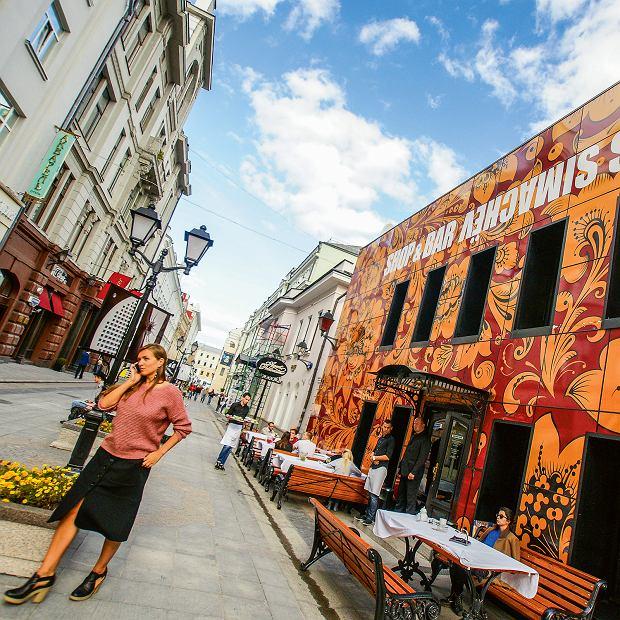 Moskwa, Denis Simachev Shop&Bar - tu wypada bywać