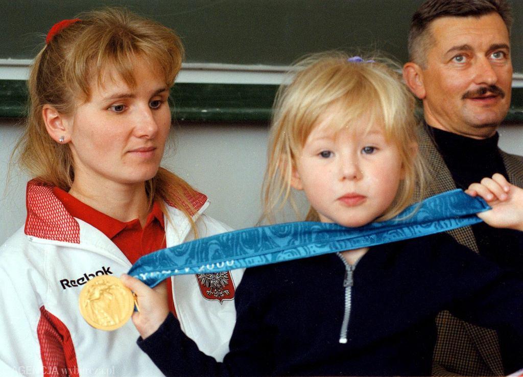 Renata Mauer z córką, Natalią