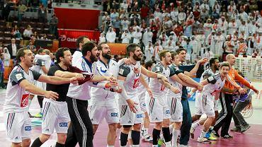 Radość Francuzów po finale