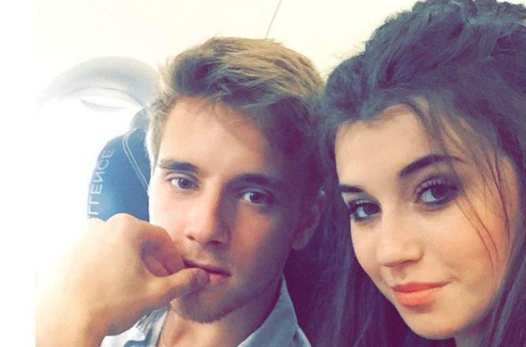 Maciej Musiał i Marta Bijan