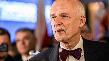 Janusz Korwin-Mikke, prezes partii KORWiN