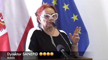 Szefowa sanepidu w Słubicach