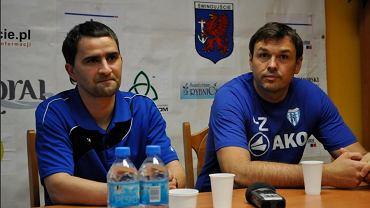 Tomasz Kafarski i Jacek Paszulewicz